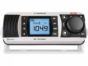 Radio morskie AM/FM z bluetooth GR300BTW