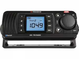 Radio morskie AM/FM z bluetooth GR300BTB